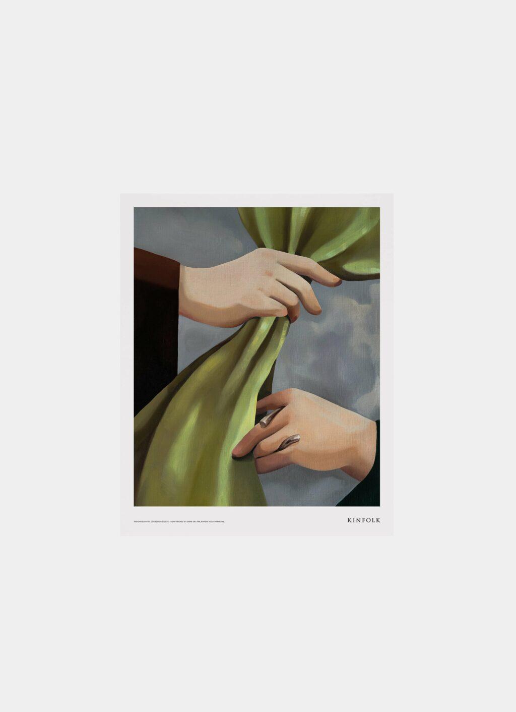 Alium - Kinfolk Print Collection - Diana Dal-Pra - Soft Strokes 02 - 40x50cm