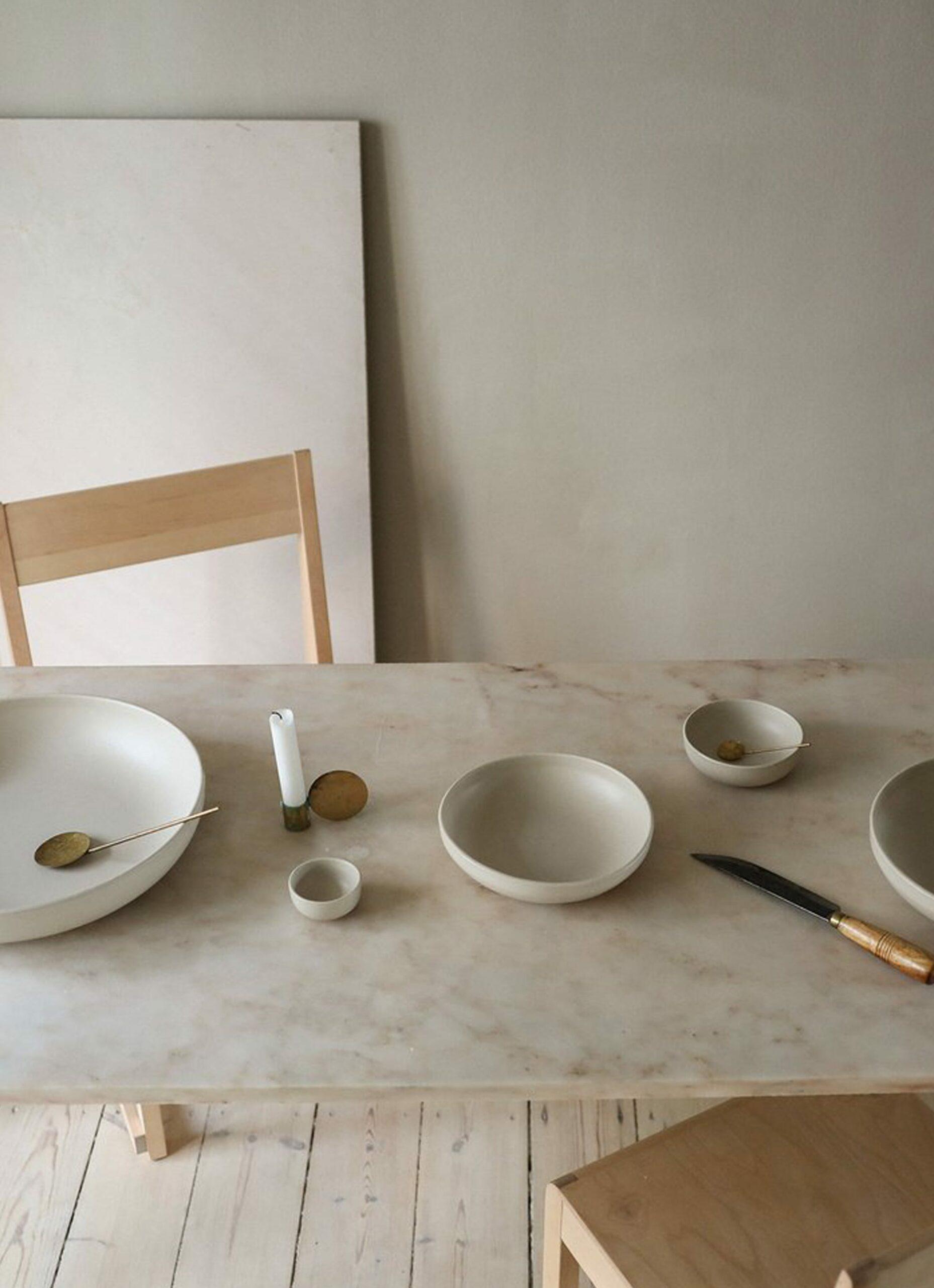 Frama - Otto - Stoneware - Shallow Bowl Set - Natural
