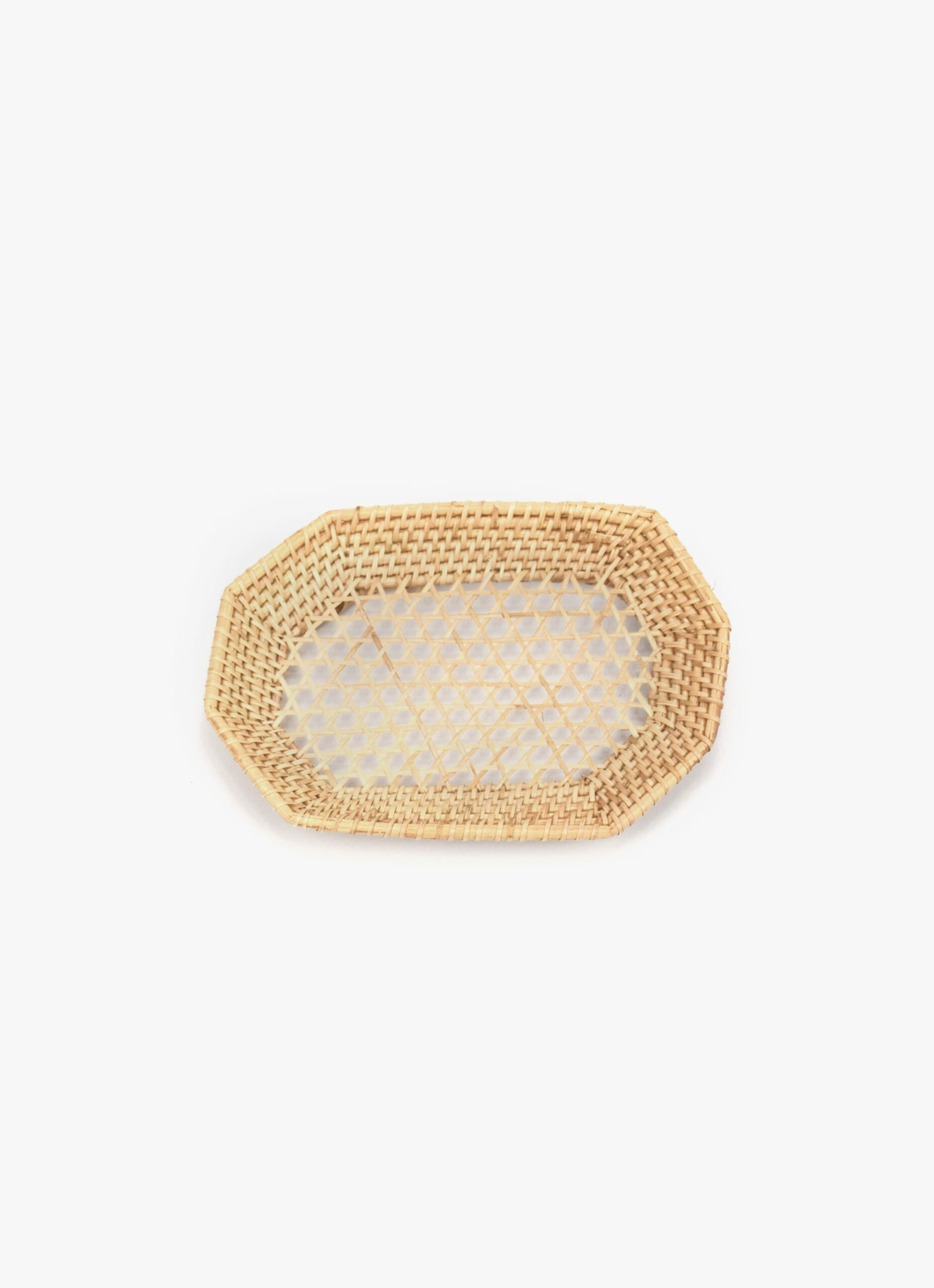 Olive and Iris - Dianella - Handwoven Rattan Tray