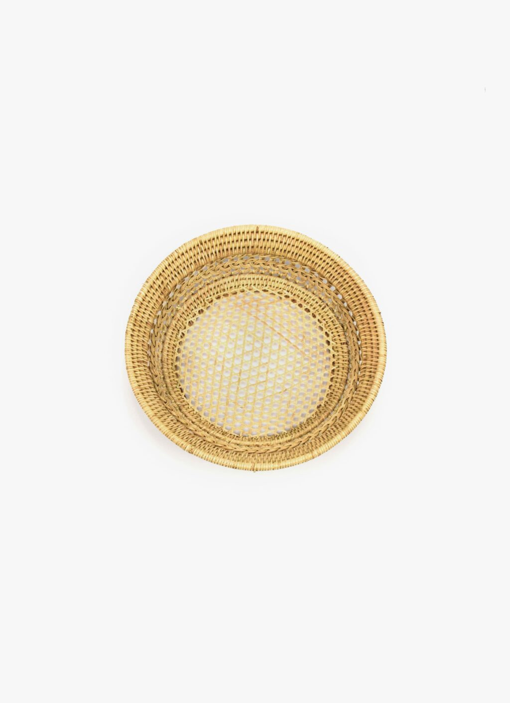 Olive and Iris - Magnolia - Handwoven Rattan Basket