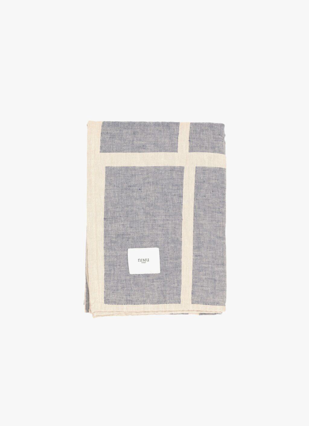 Nimu Roma - Ischia Beach Towel - Soft linen and Cotton-jacquard - 170x135cm