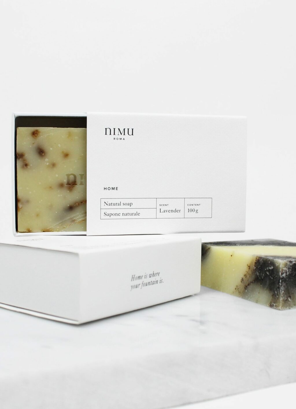 Nimu Roma - Lavandula and Honey - natural soap