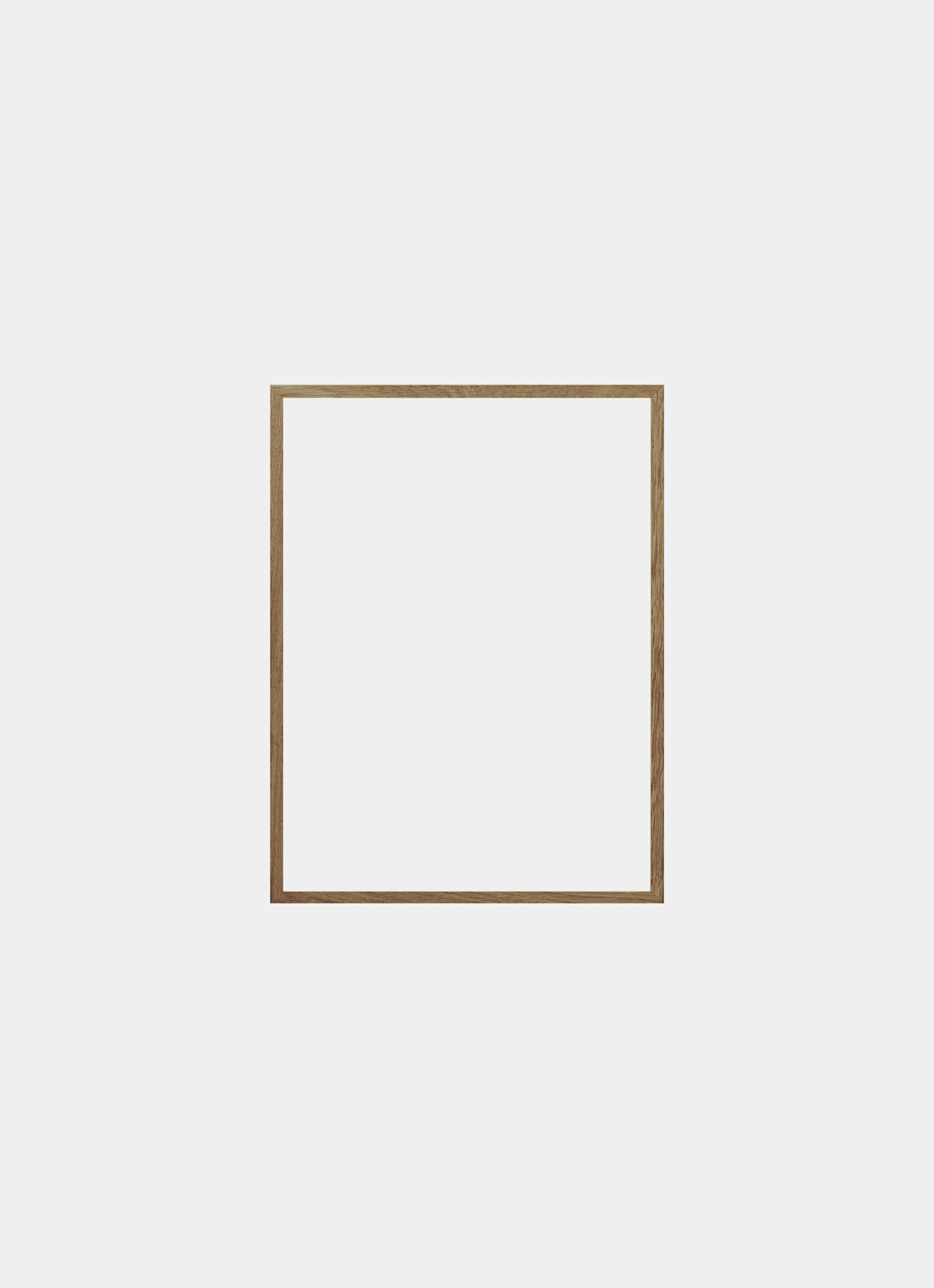 Solid Oak Frame - Natural - 40x50cm