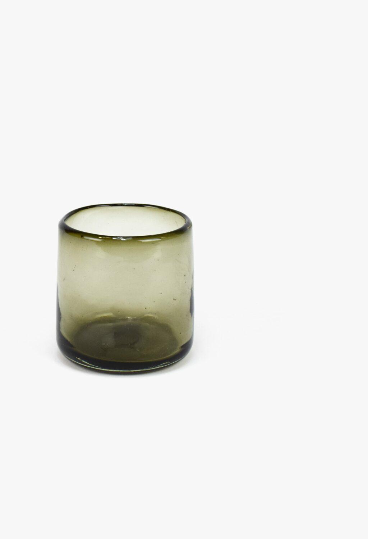 La Muerte Tiene Permiso - Nightlights of Mexico City - Handmade Recycled Glass Tumbler