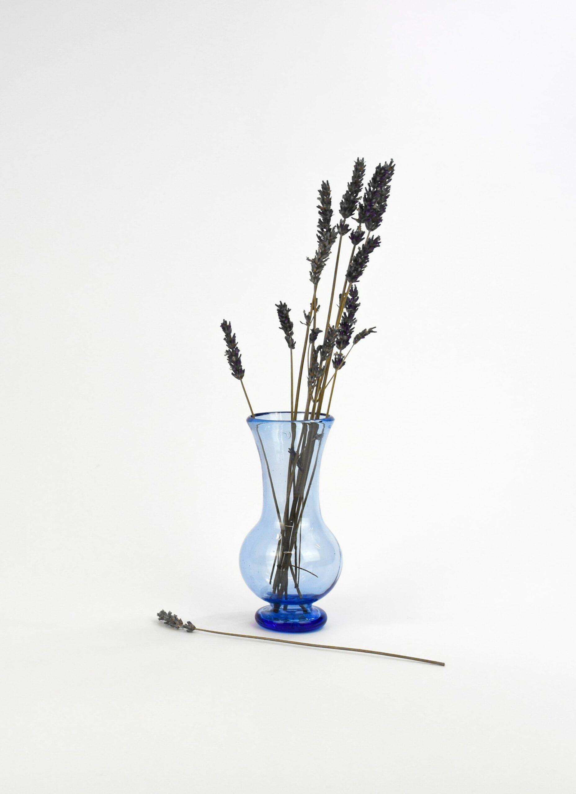 La Soufflerie - Silhouette - Glass Carafe - Light Blue
