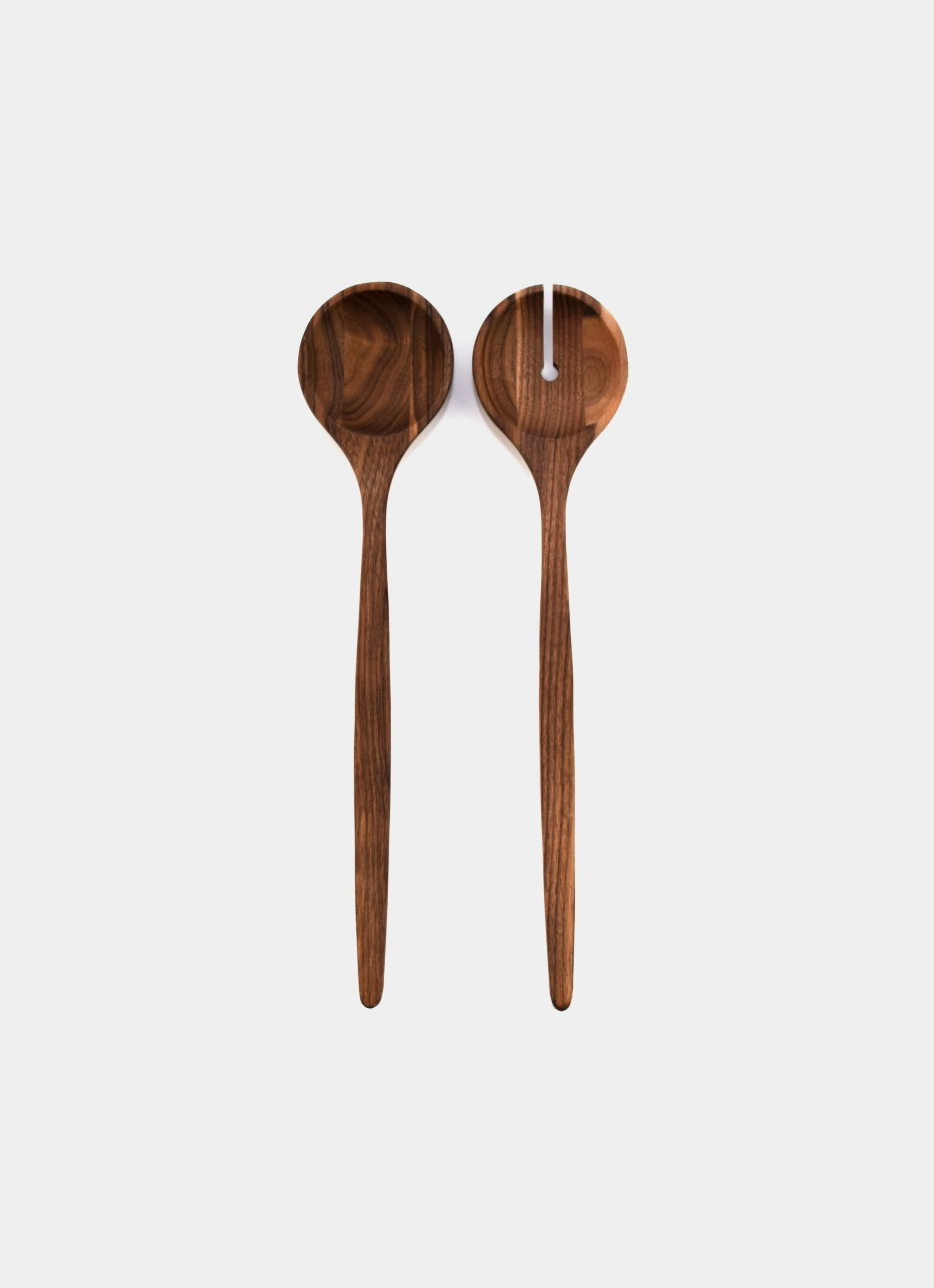 Tell me more - Salad Servers - Walnut