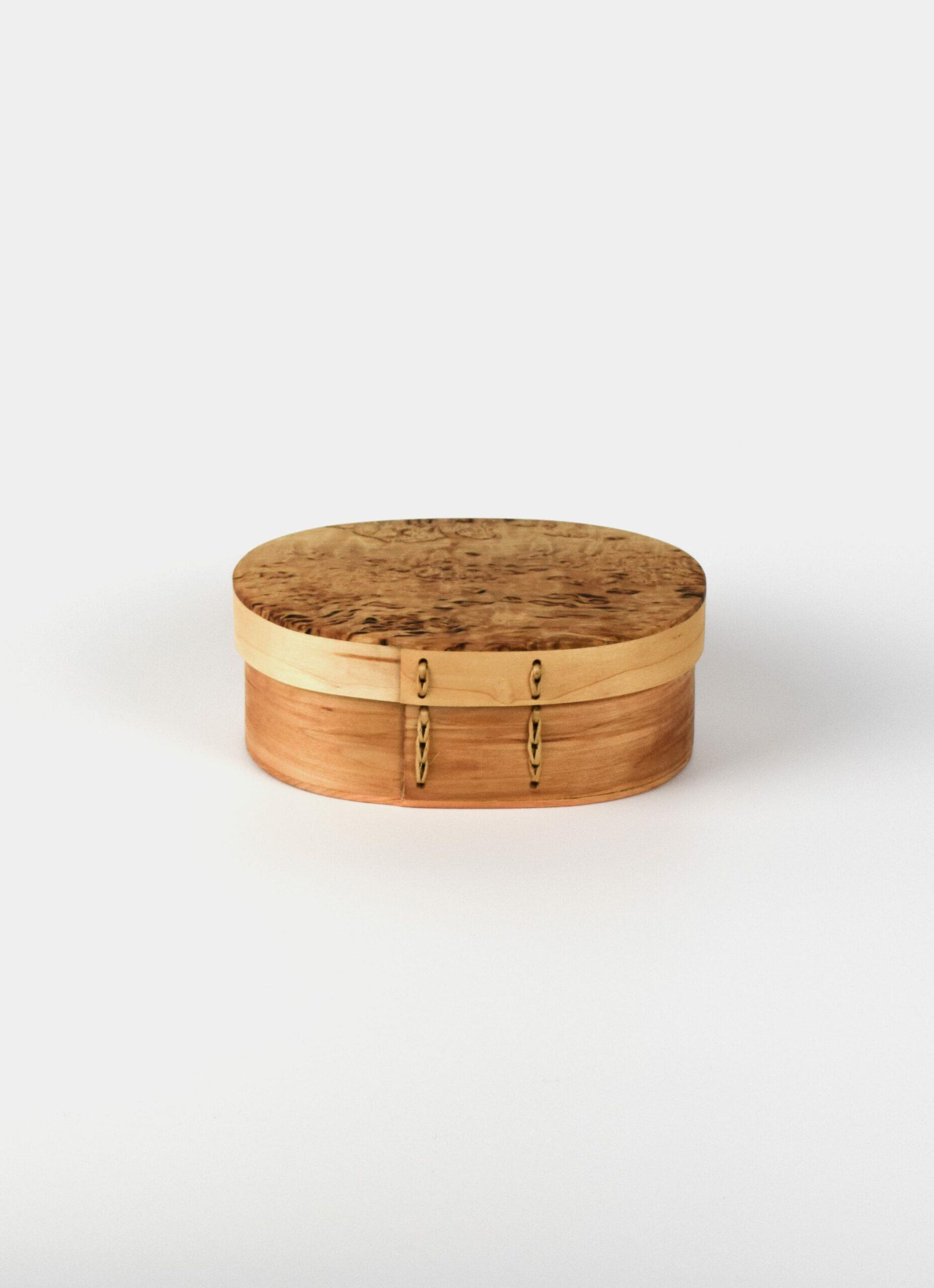 Ljungars Bo-Ake - Handmade - Birch Shaker Box