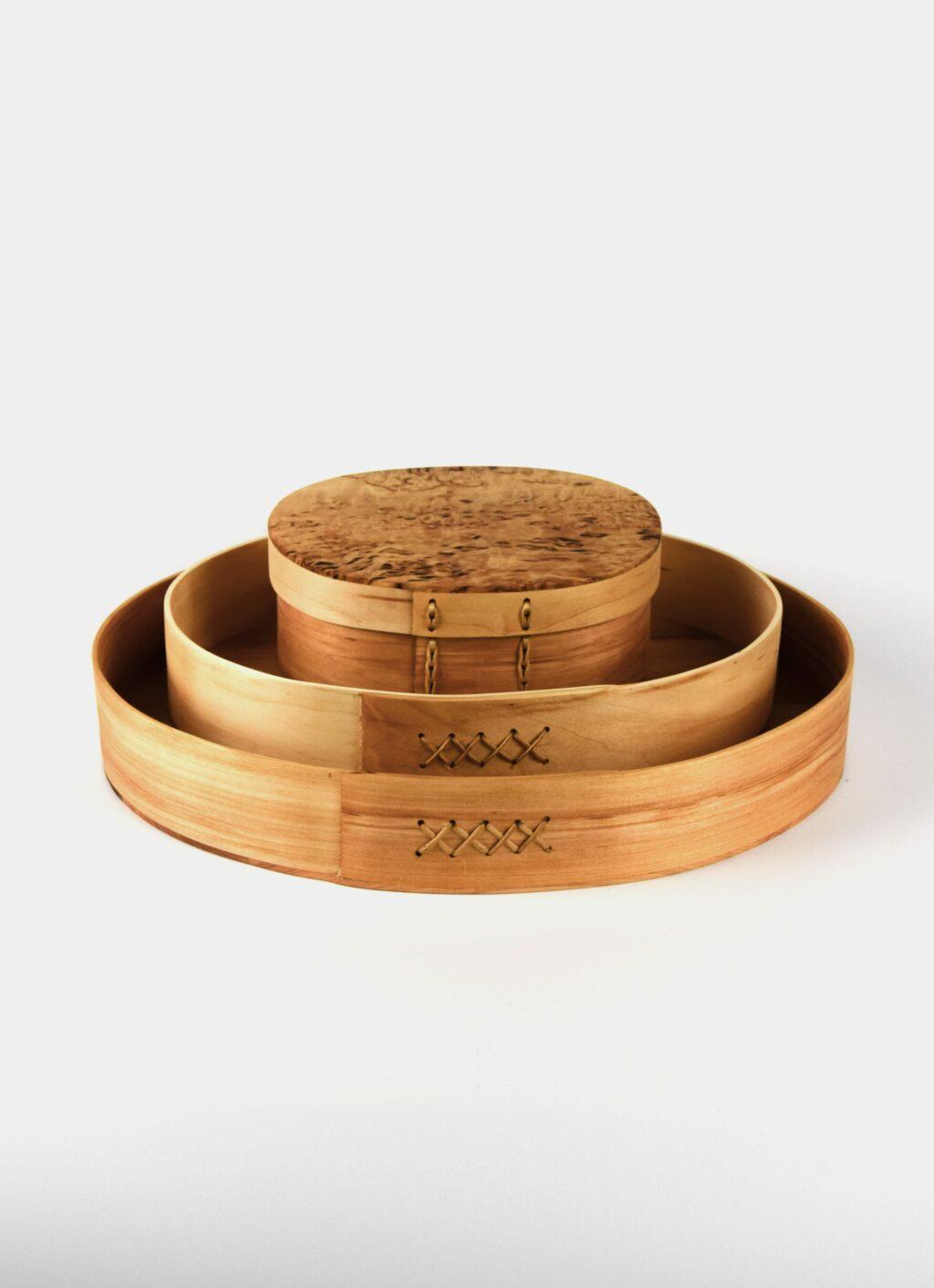 Ljungars Bo-Ake - Handmade - Alder and Birch - Shaker Tray - Large