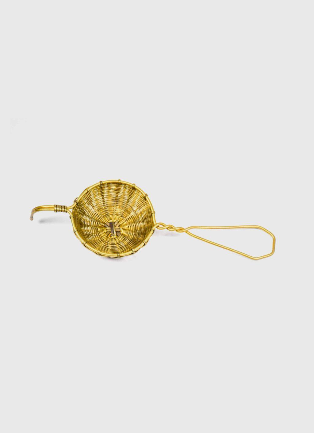 Bellocq - Tea Strainer - Petite Basket - Brass