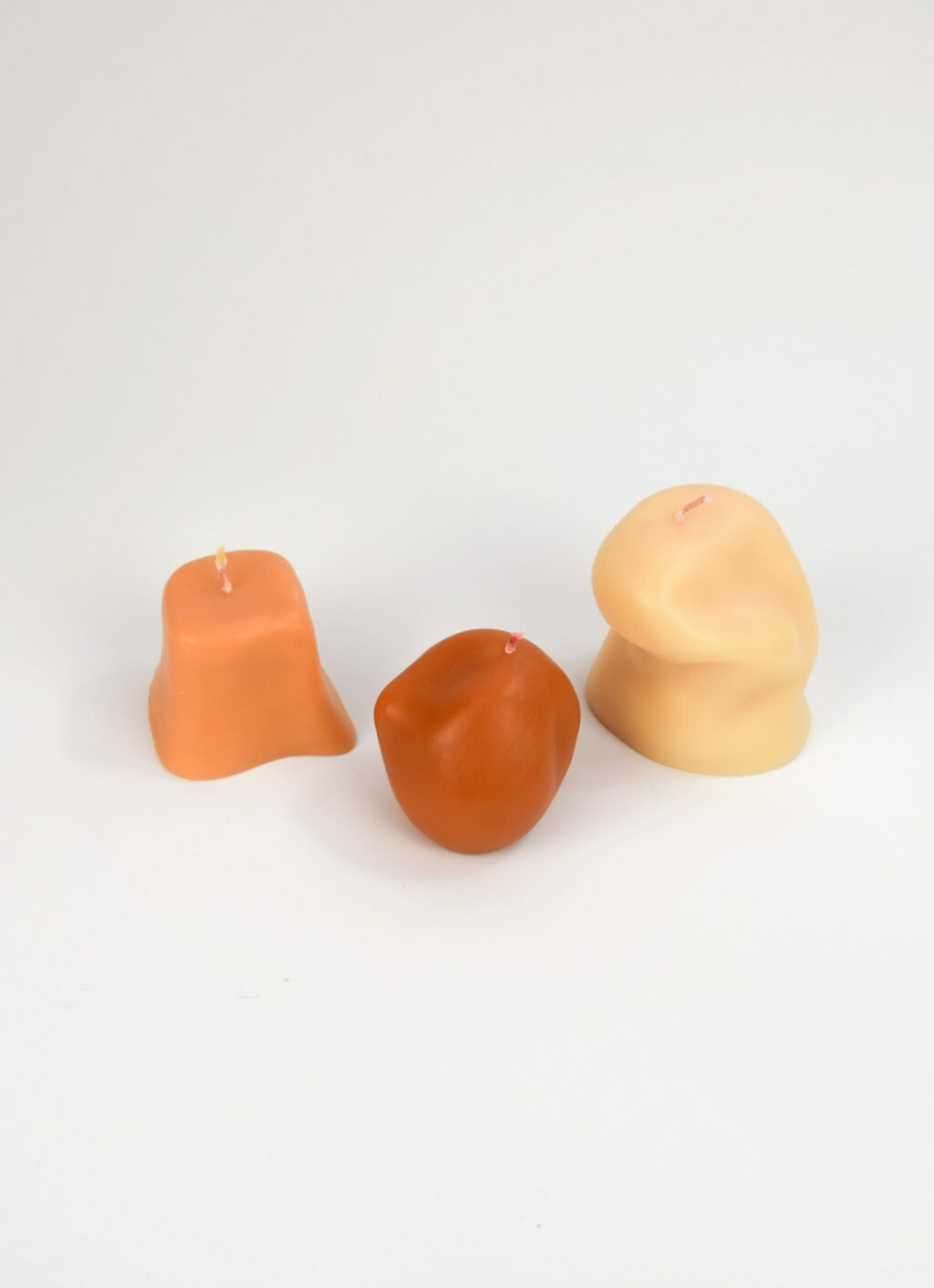 Ann Vincent Studio - Sole Candles - Set of three hand poured soy-wax candles