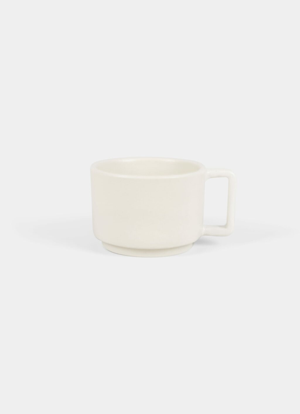 Frama - Otto Stoneware Low Mug with Handle - Natural