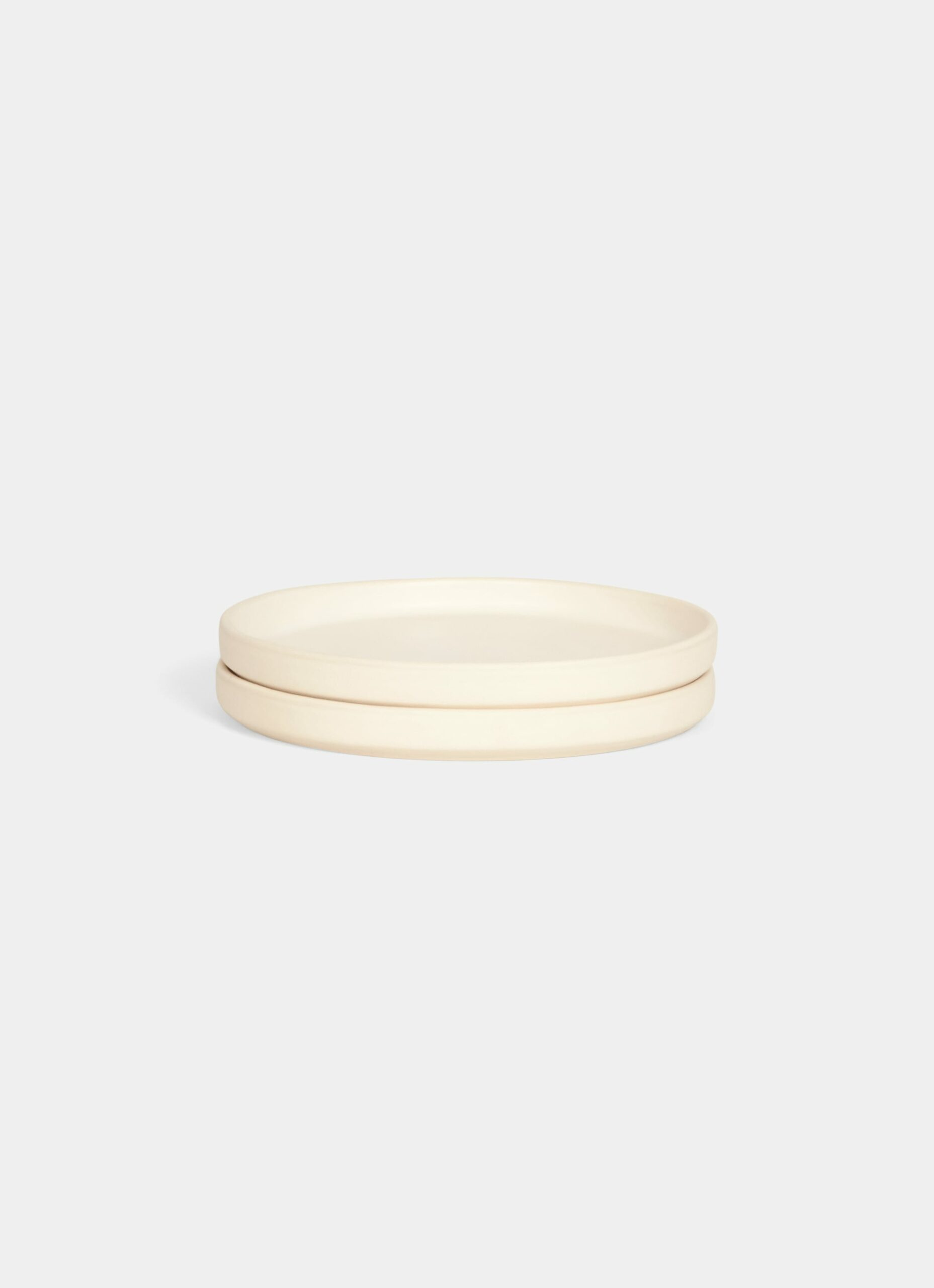 Frama - Otto Stoneware Plate - Natural - Set of Two - S