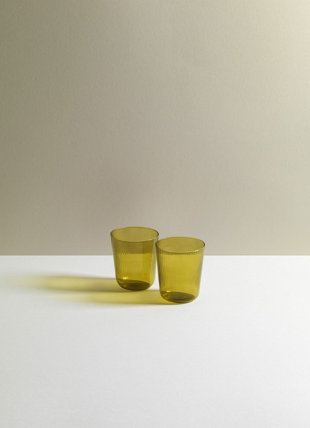 Research and Design Lab - Luisa Tinto - Aqua - Set of two - Citrine green