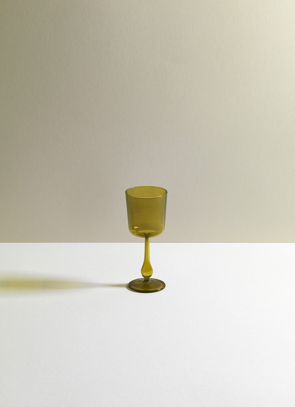 Research and Design Lab - Luisa Tinto - Calice - Set of two - Citrine green