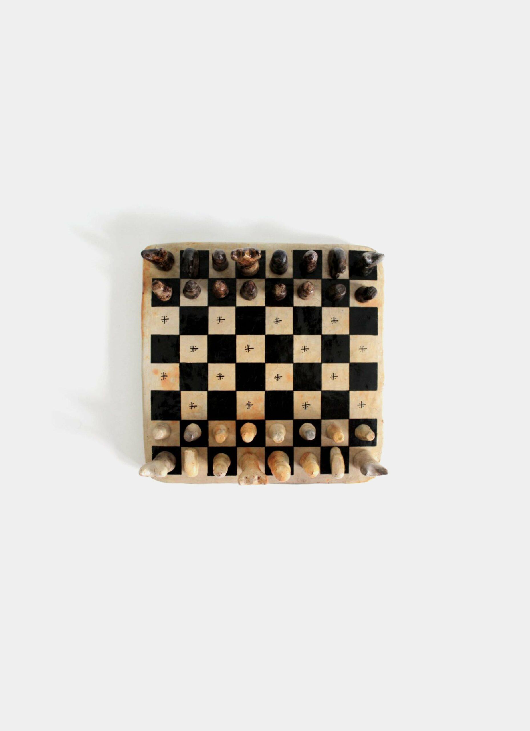 Flayou - Chich-Bich - Terracotta - Chess black