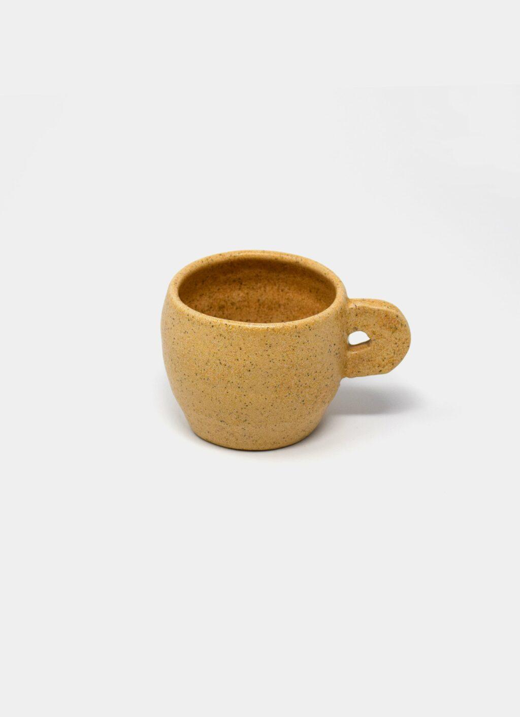 Kuza - Coffee Cup - Ochre