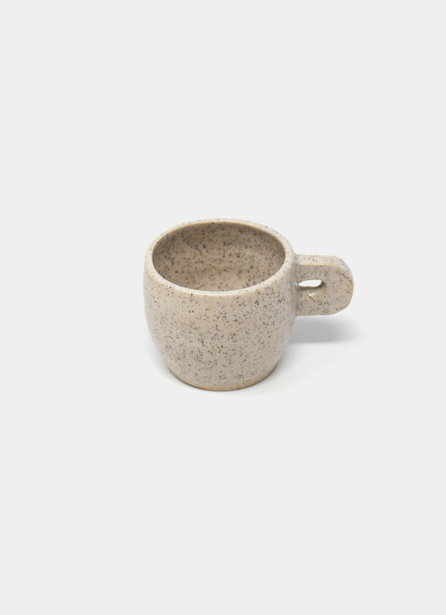Kuza - Coffee Cup - Speckled White