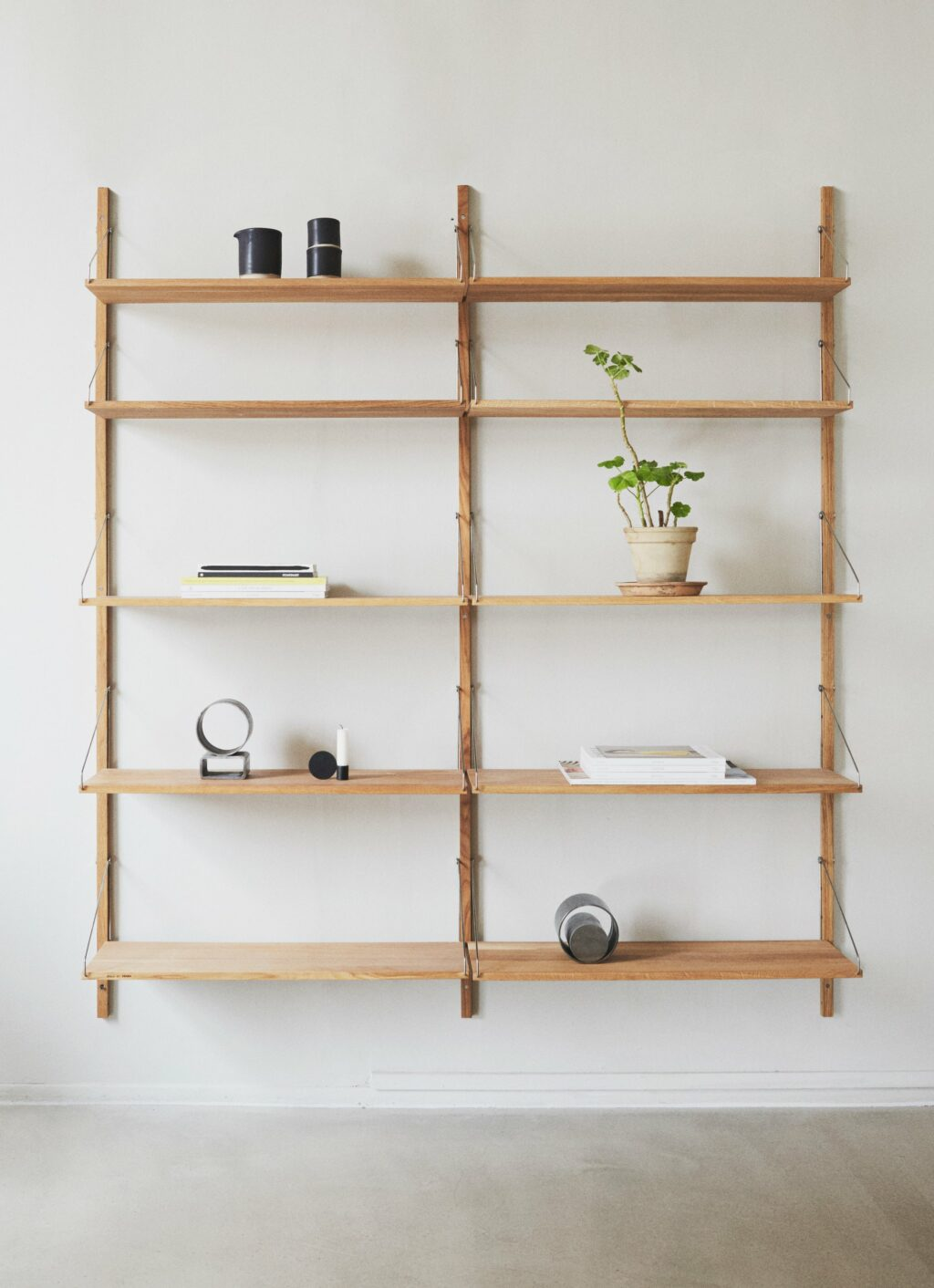 Frama - Shelf Library - Natural - H1852 - Double Section