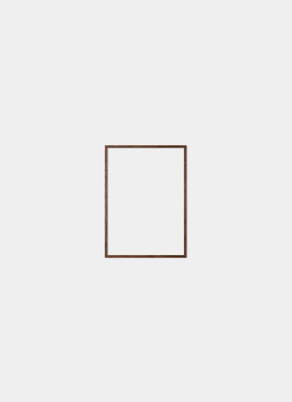 Solid Oak Frame - Dark - 30x40 cm