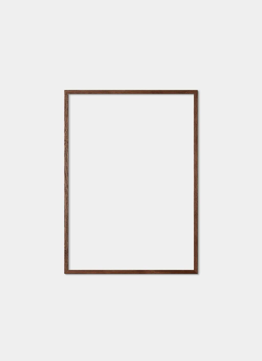 Solid Oak Frame - Dark - 50x70 cm