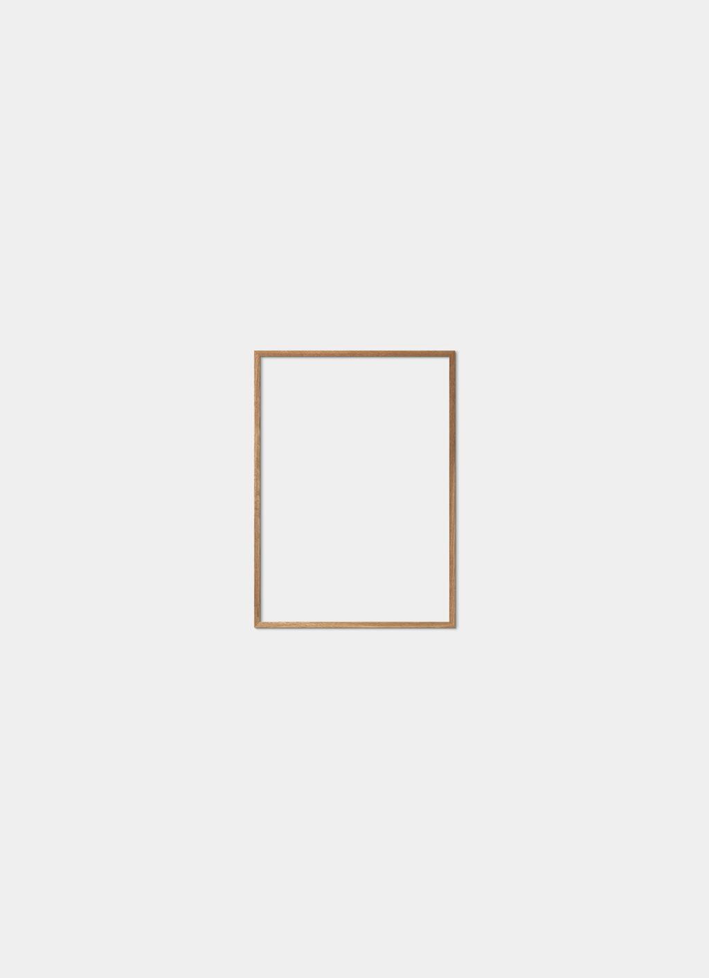 Solid Oak Frame - Natural - 30x40 cm