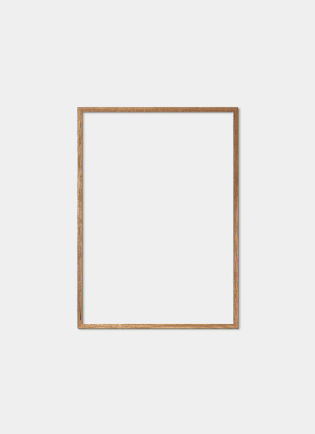 Solid Oak Frame - Natural - 50x70 cm