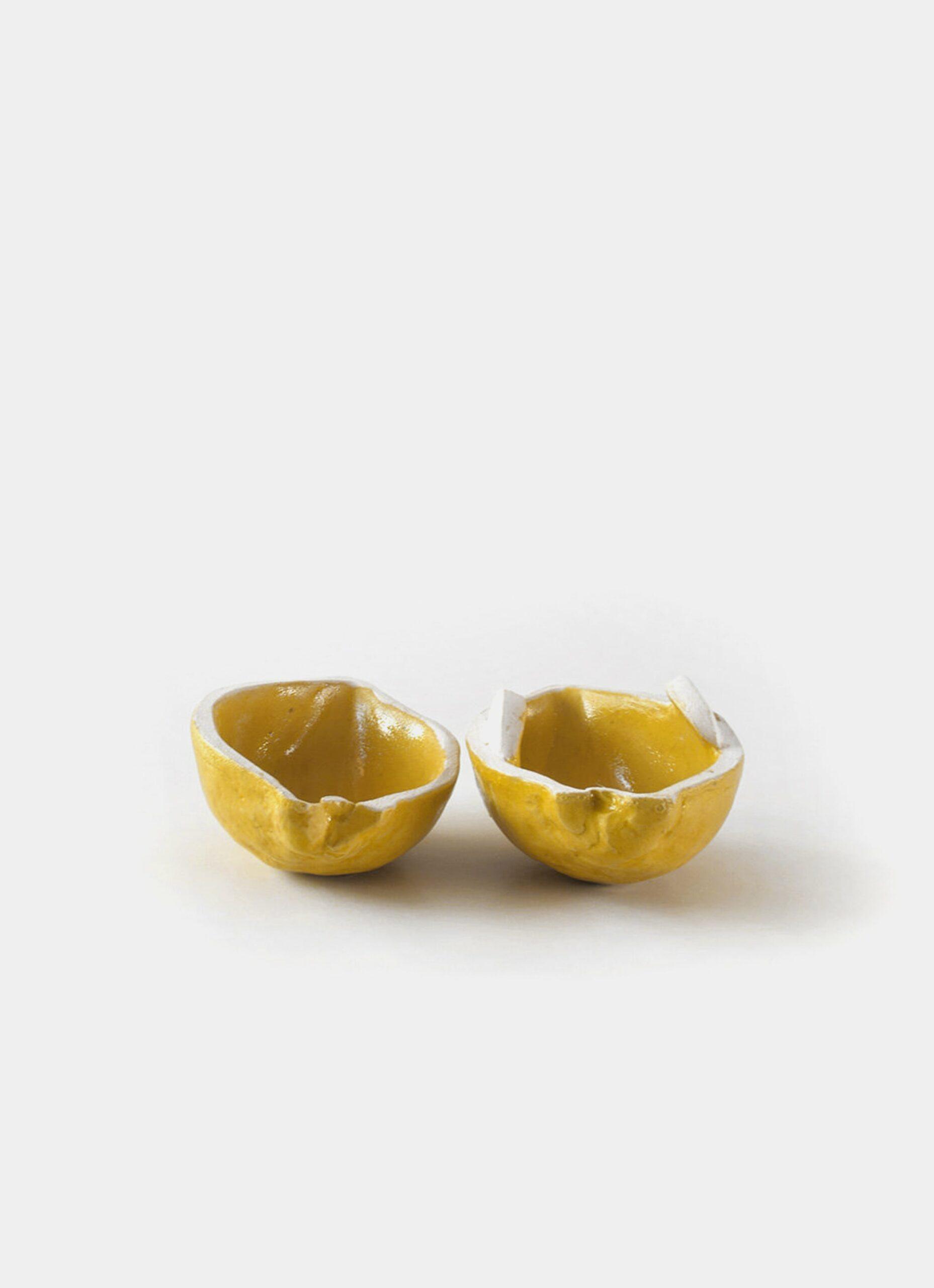 Lovisa Waldrop Bergman - Handmade Stoneware Box - Citronask