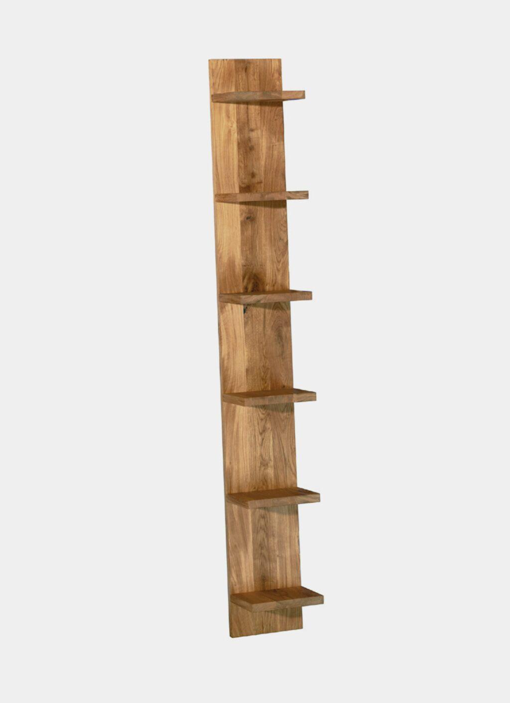 e15 - MATE - Solid Oak Shelf by Florian Asche