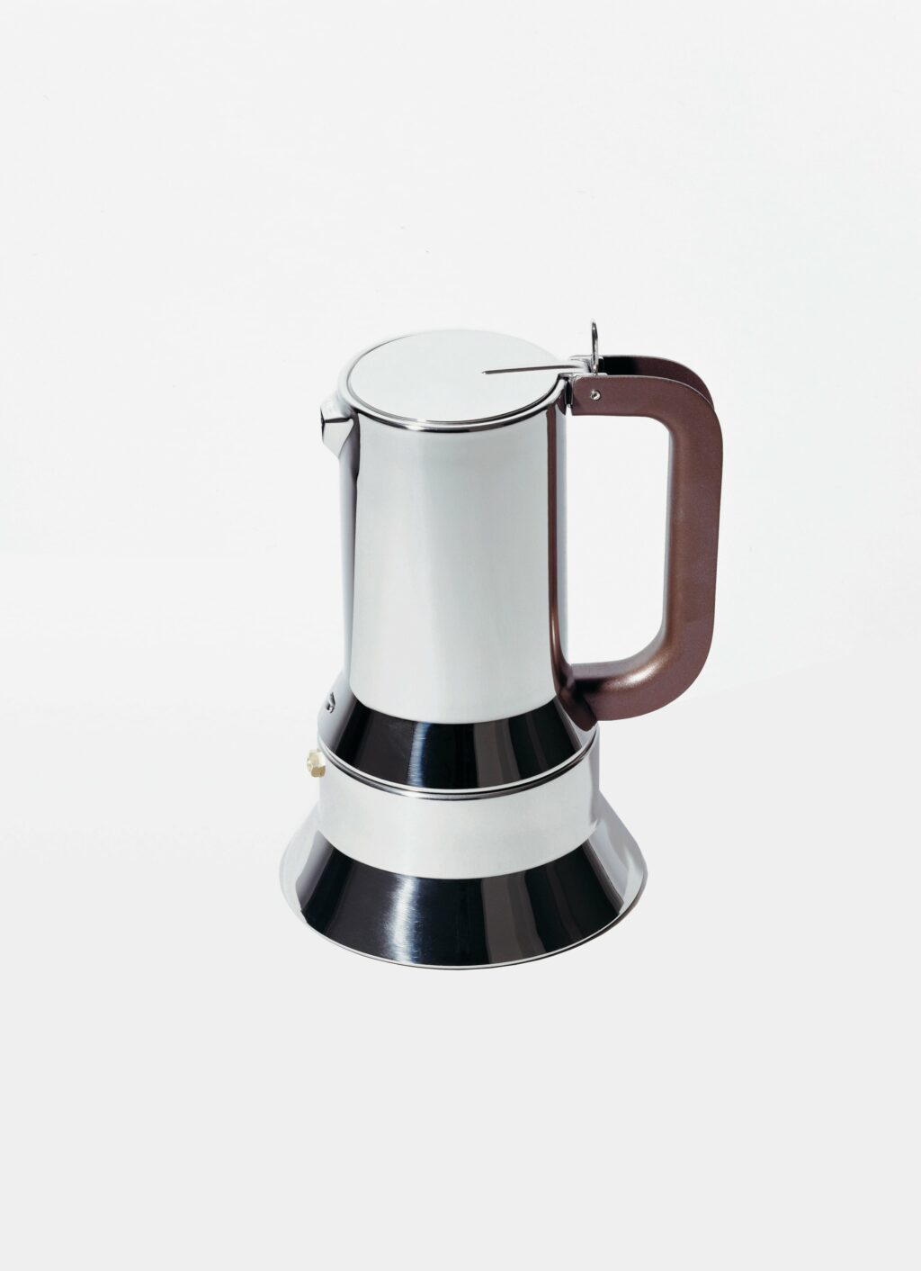 Alessi - 9090 - Richard Sapper - Espresso Coffee Maker - 3 cups - Stainless Steel