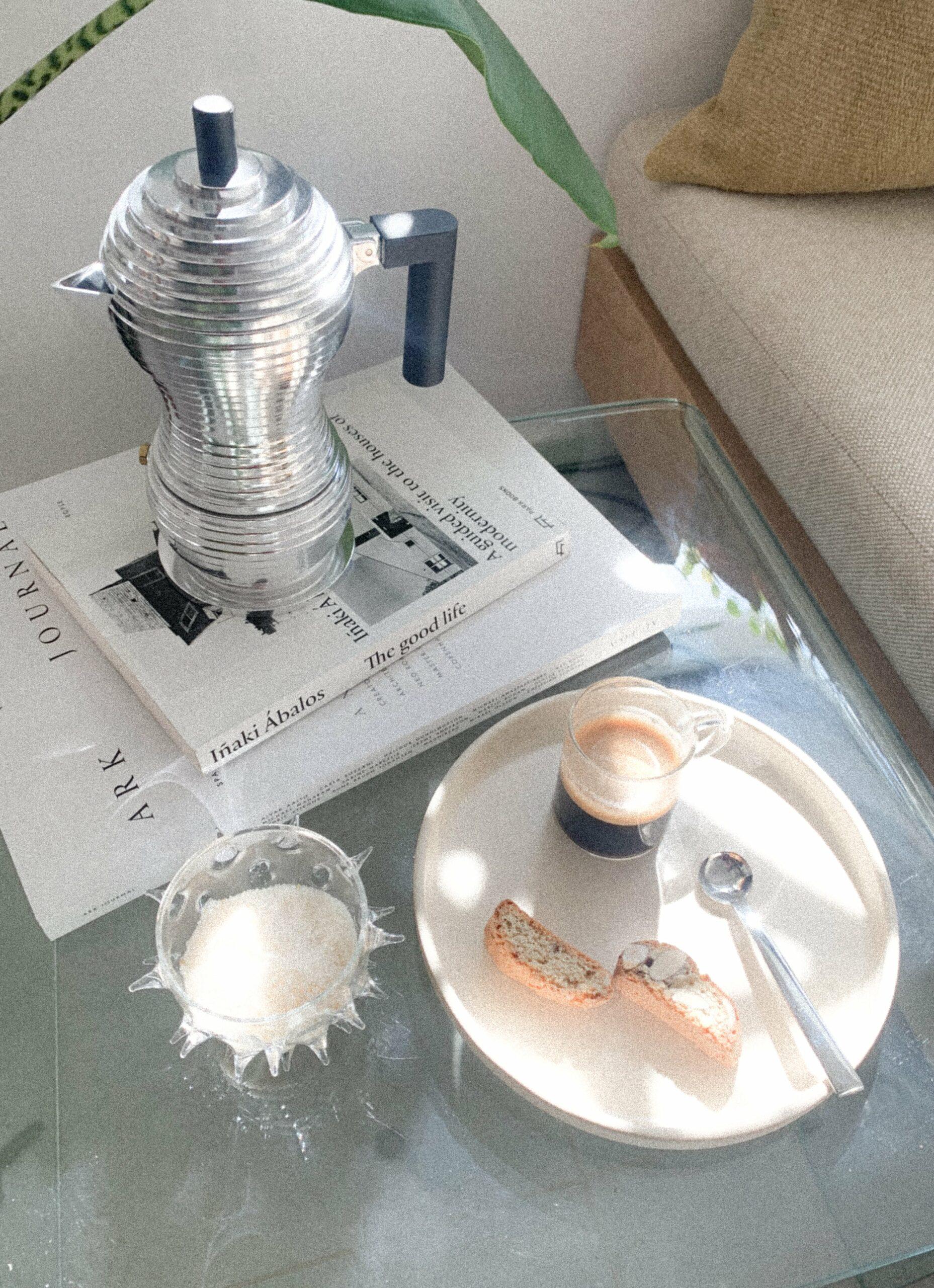 Alessi - Pulcina - Michele de Lucchi - Mocha Coffee Maker - 3 cups