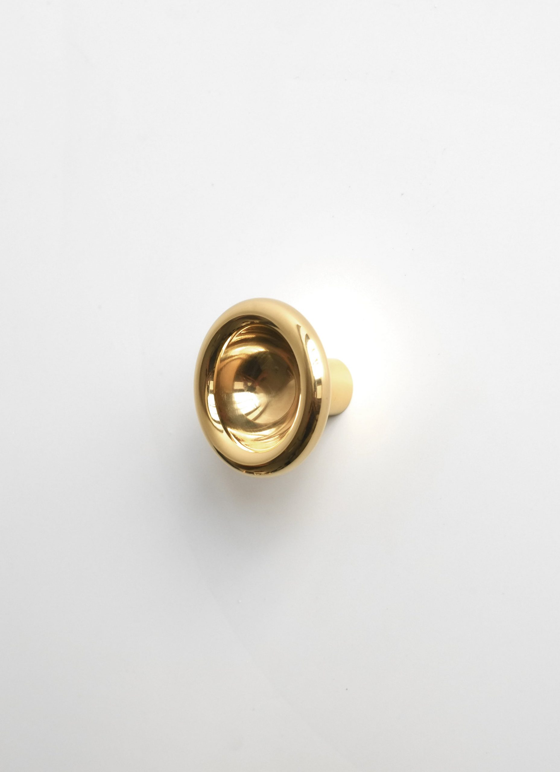 Fort Standard - Solid Brass - Concave Knobs - 3 diff. sizes