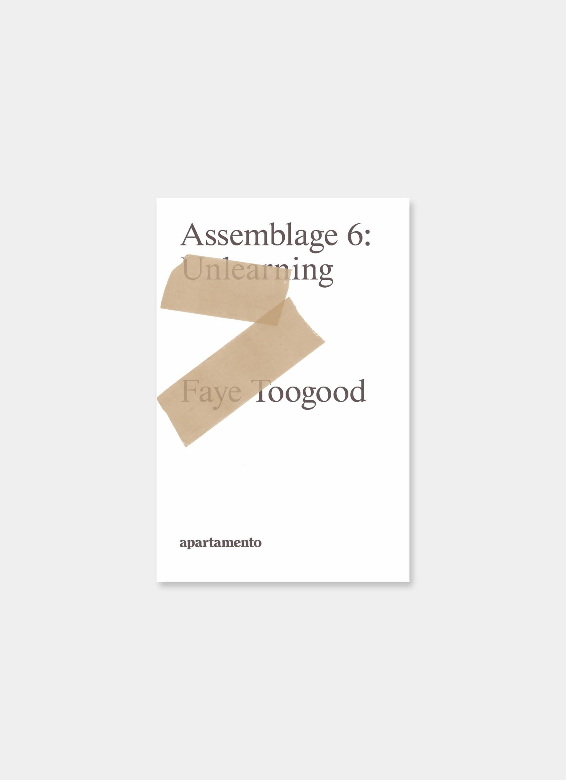Faye Toogood - Apartamento - Assemblage 6 - Unlearning