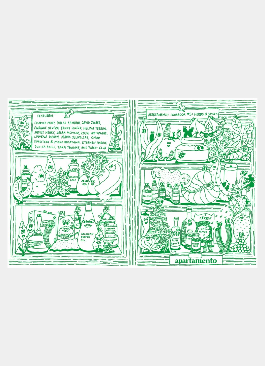 Apartamento - Cookbook #5 - Herbs and Spices
