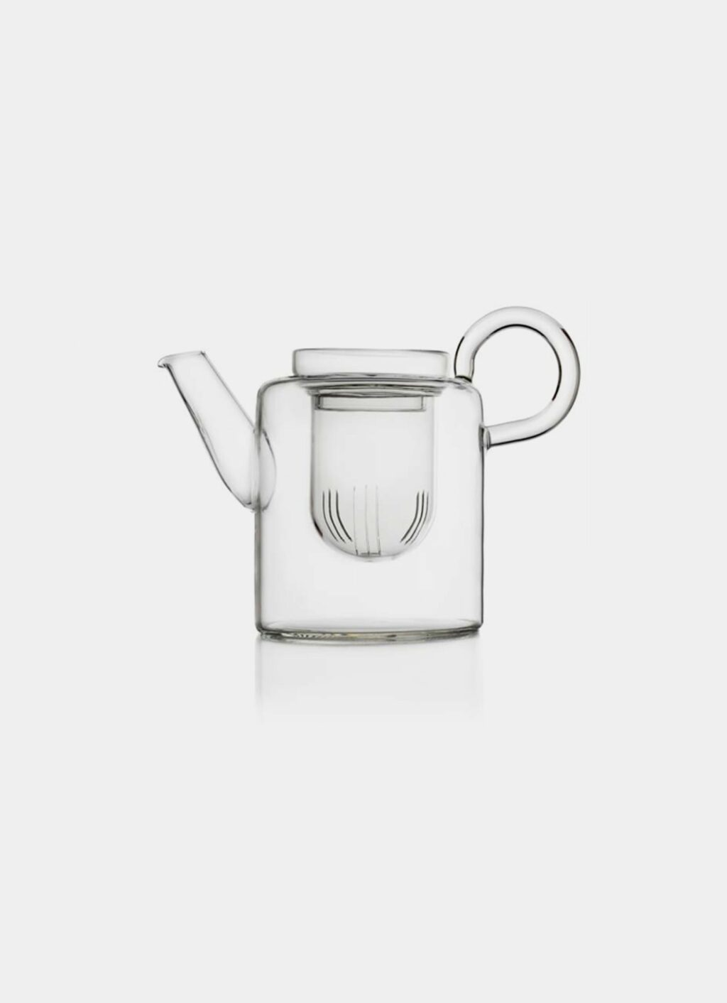 Ichendorf Milano - Marco Sironi - Piuma - Tall Tea pot with Filter