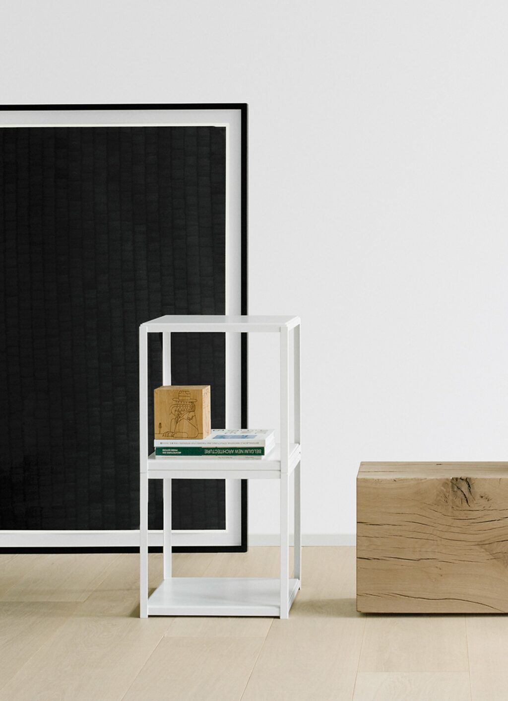 e15 - Ferdinand Kramer - Fortyforty - Stackable side table - Powder coated steel