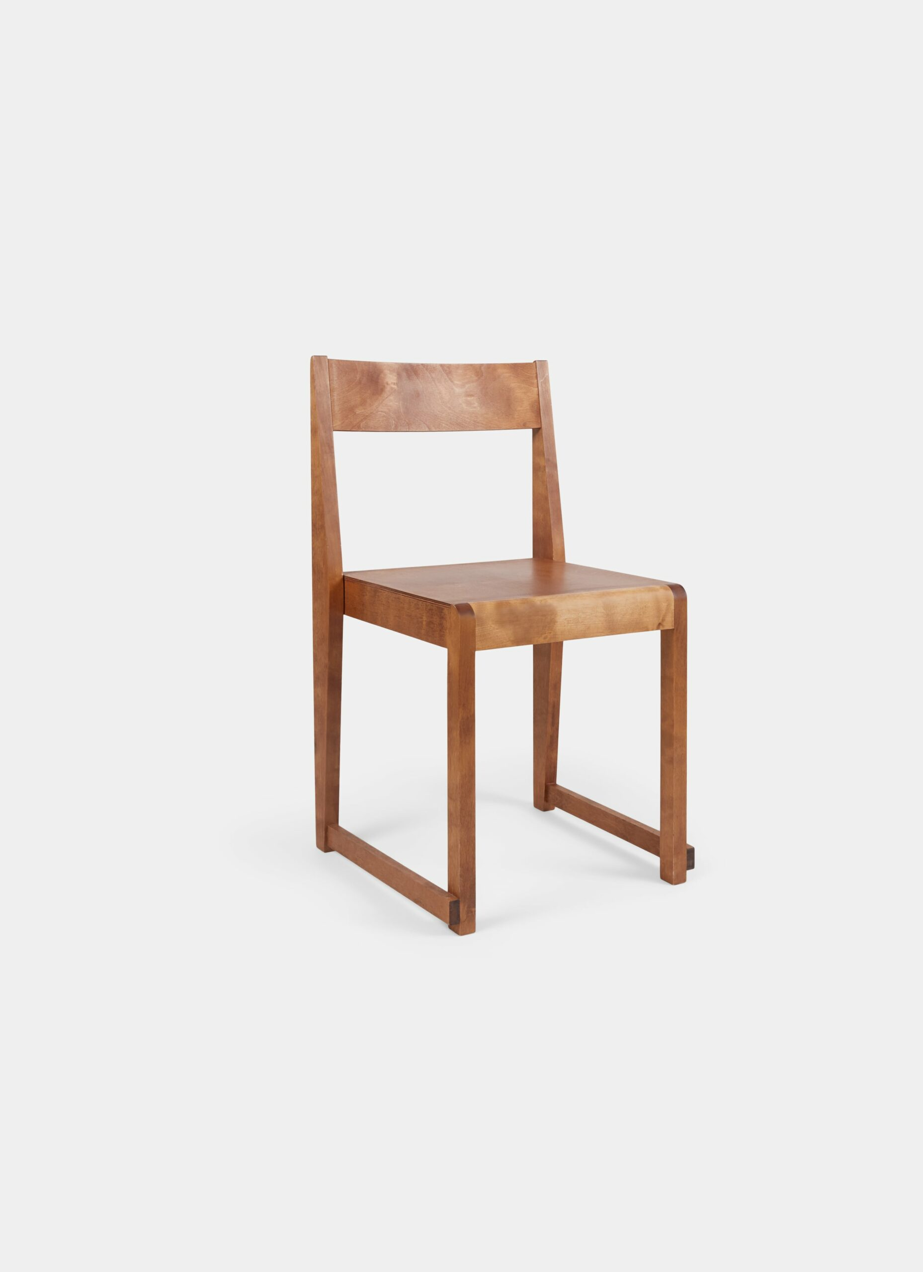 Frama - Chair 01 - Warm Brown Wood
