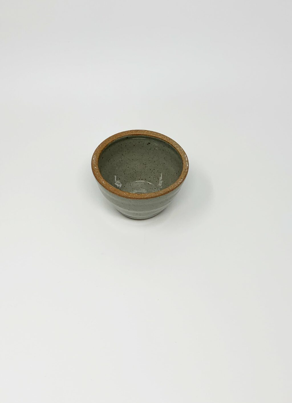 Incausa - Wood Fired Stoneware Smudge Bowl - Celadon - L