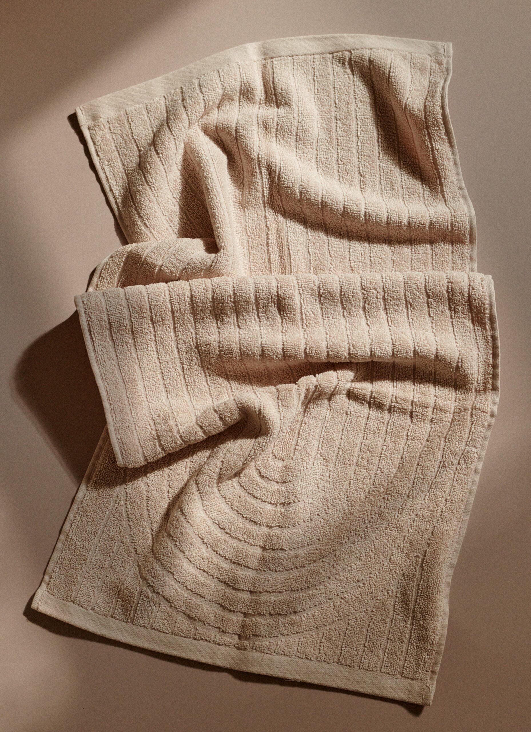 Baina - Organic Cotton - Bath Mat - Martha - Clay - 80 x 50cm