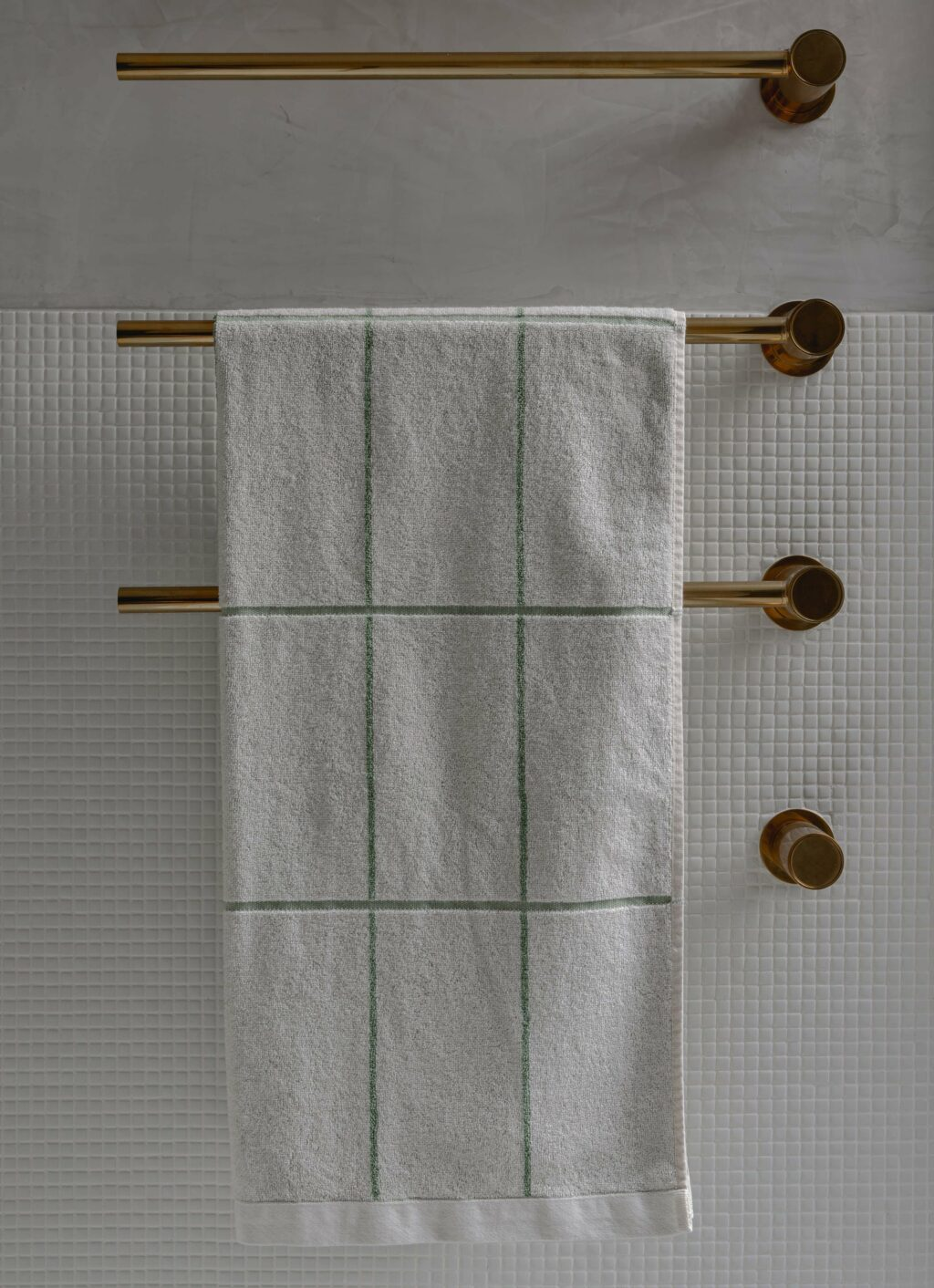 Baina - Organic Cotton - Bath Towel - Bethell - Sage and Chalk - 140 x 70cm