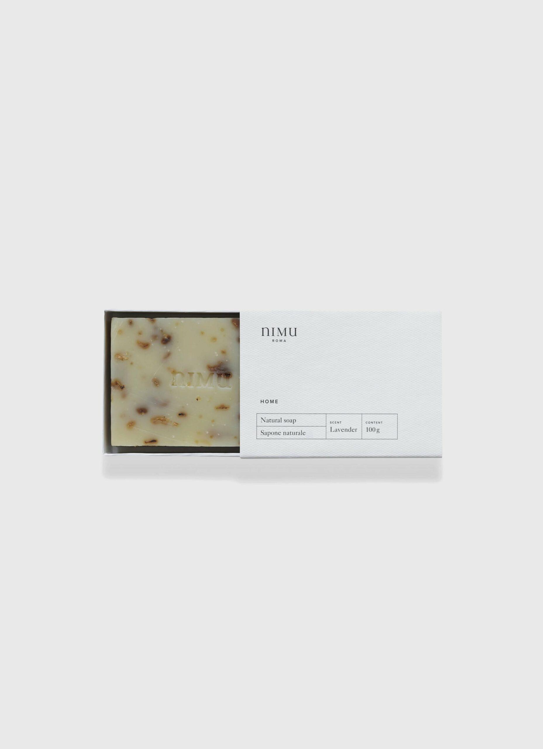 Nimu Roma - Lavandula and Honey - handmade natural soap