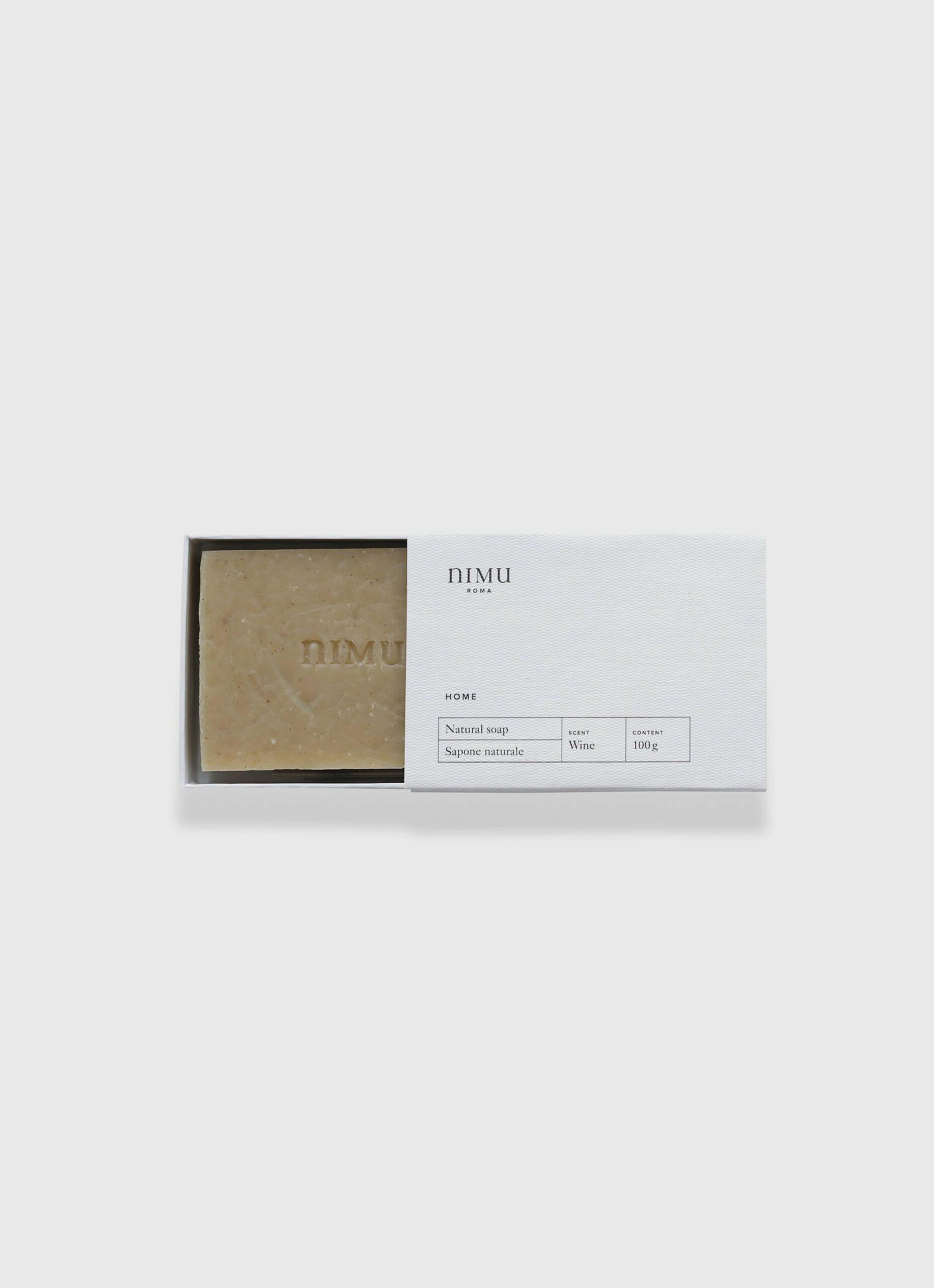 Nimu Roma - Wine - handmade natural soap