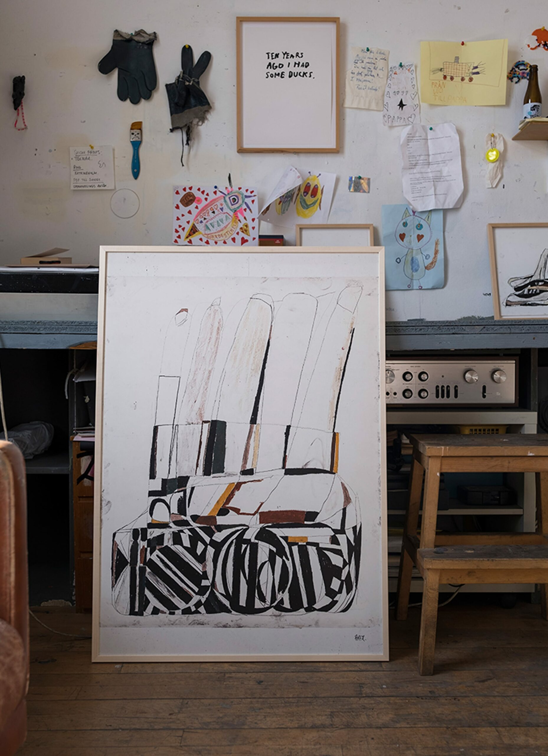 Fine Little Day - EKTA - Takes time to pass - Art print - 70cm x 100cm