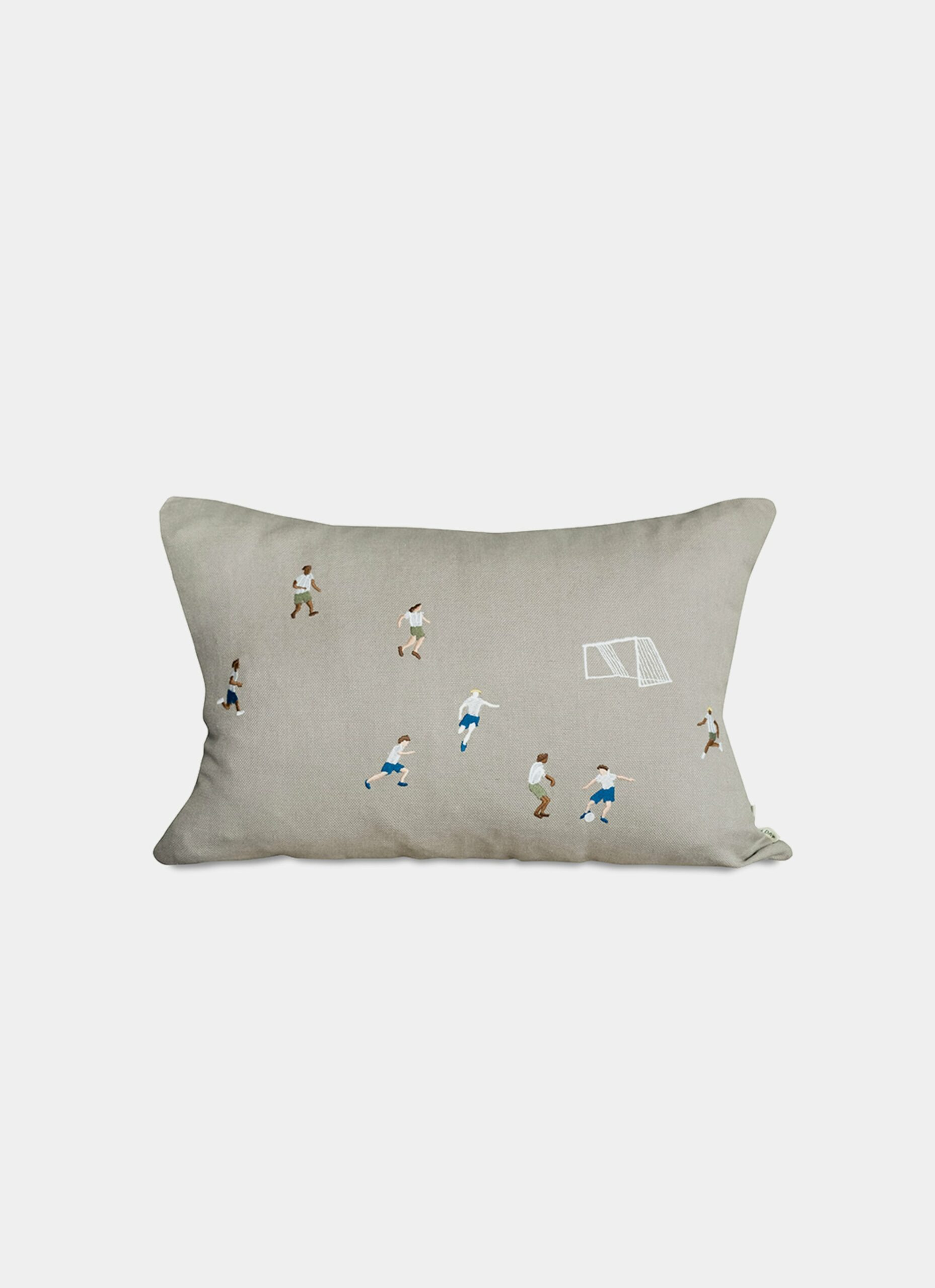 Fine Little Day - Soccer - Embroidered Cushion Cover - 40x60cm