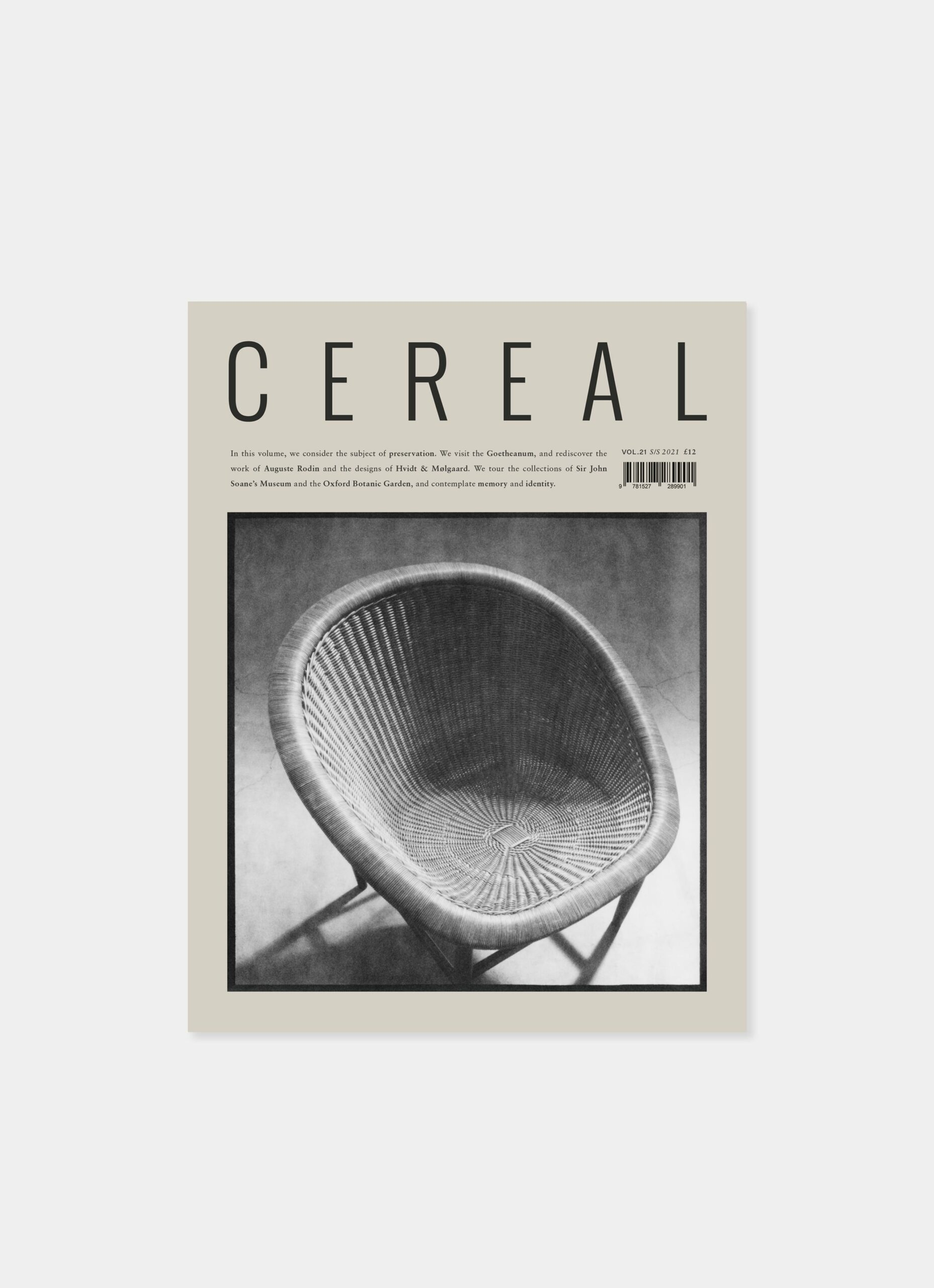 Cereal Magazine - Volume 21