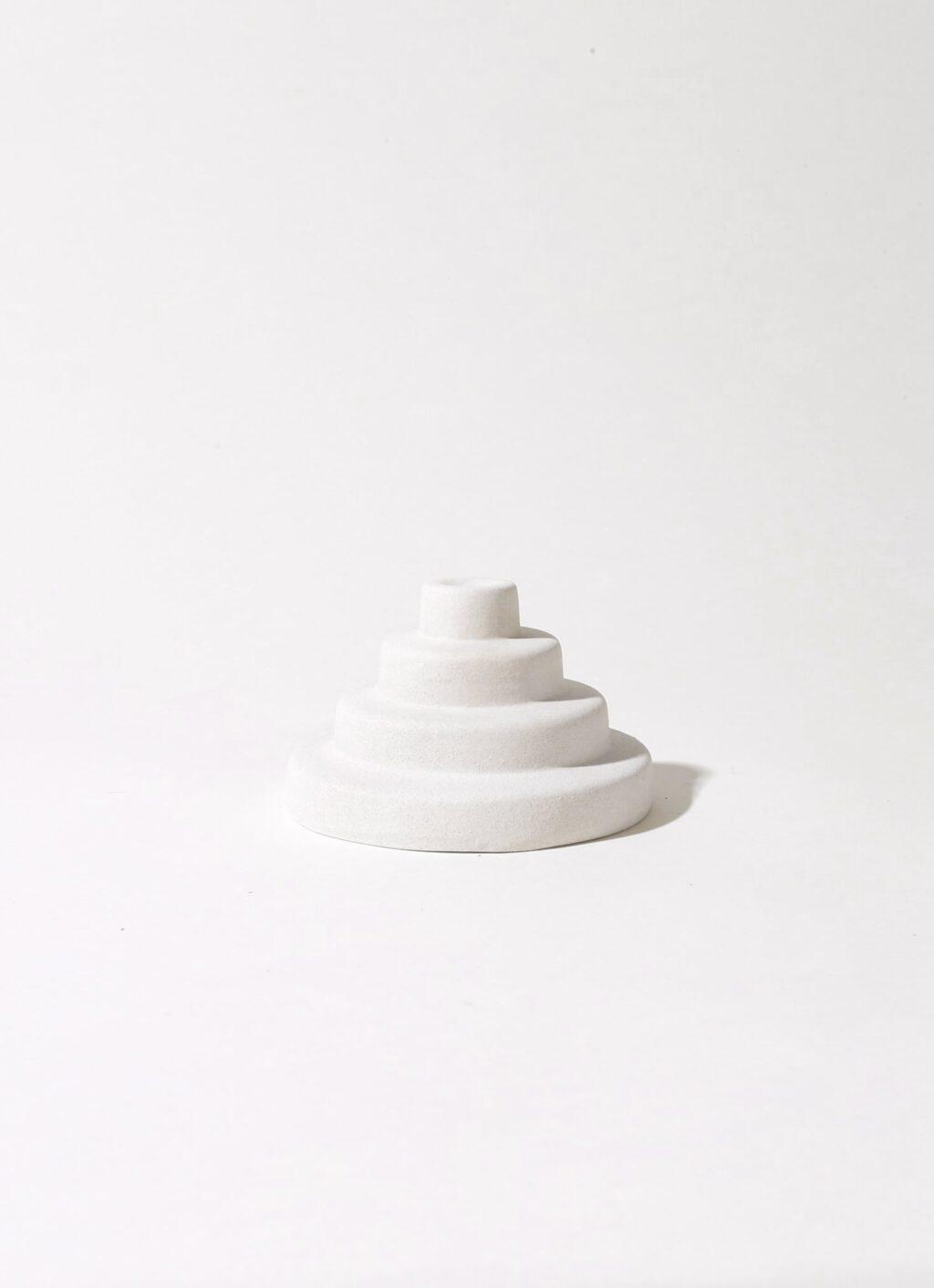 Yield - Ceramic Incense Holder - cream