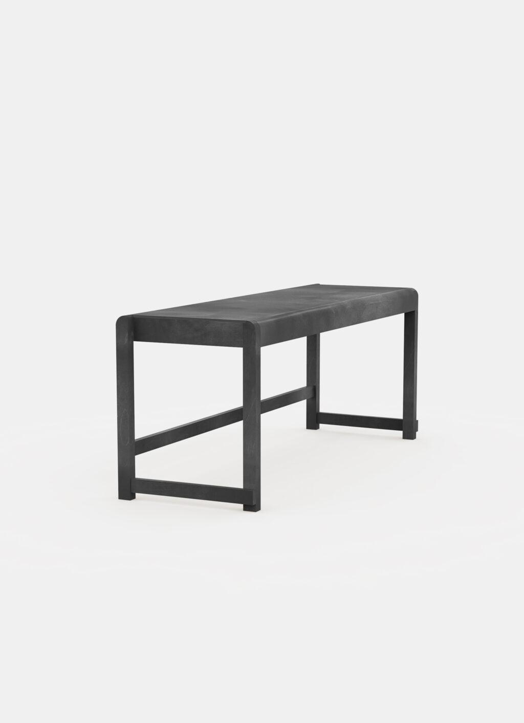 Frama - Bench 01 - Ash Black Wood