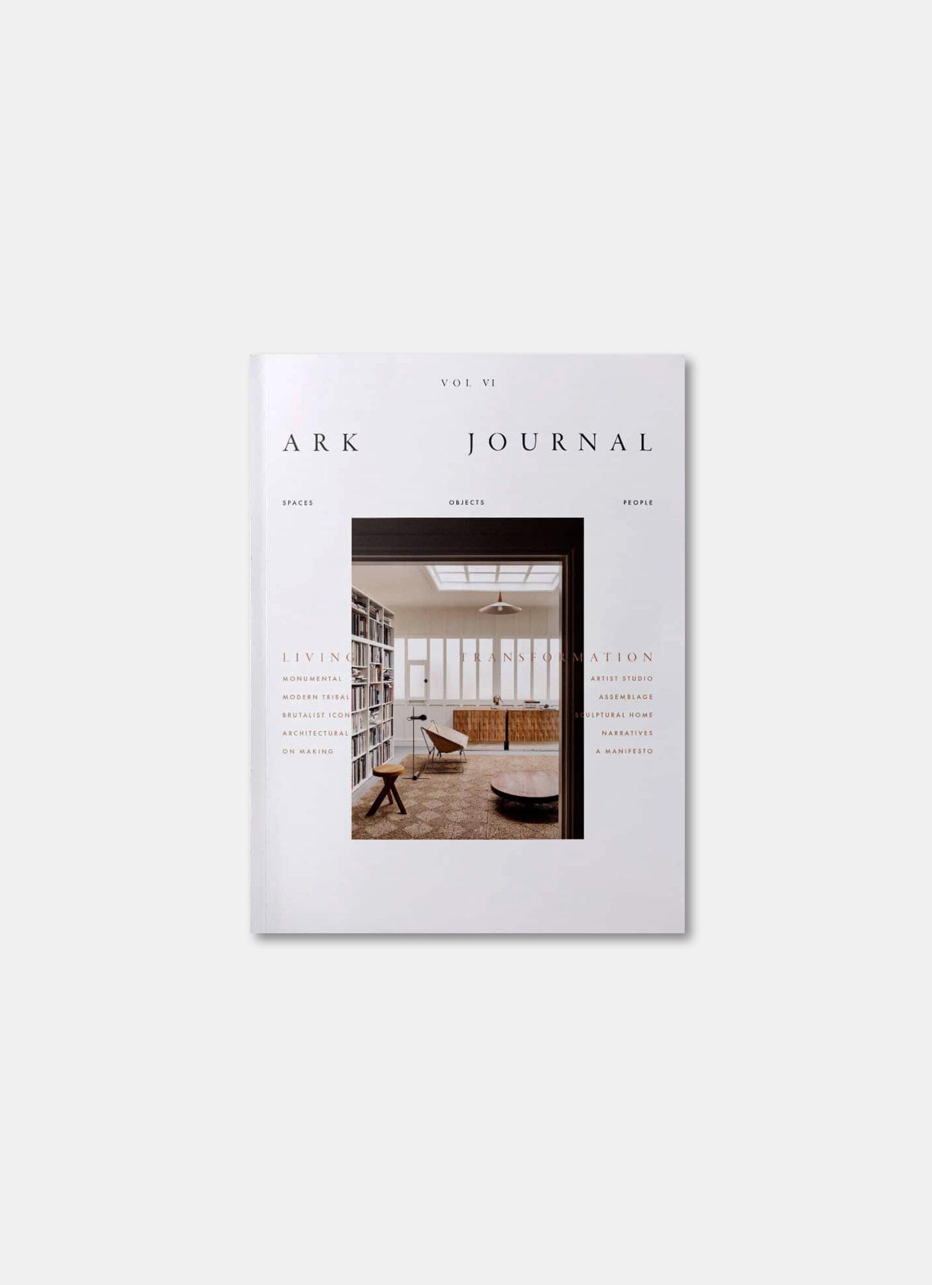 Ark Journal - Autumn - Winter 2021 - Volume VI