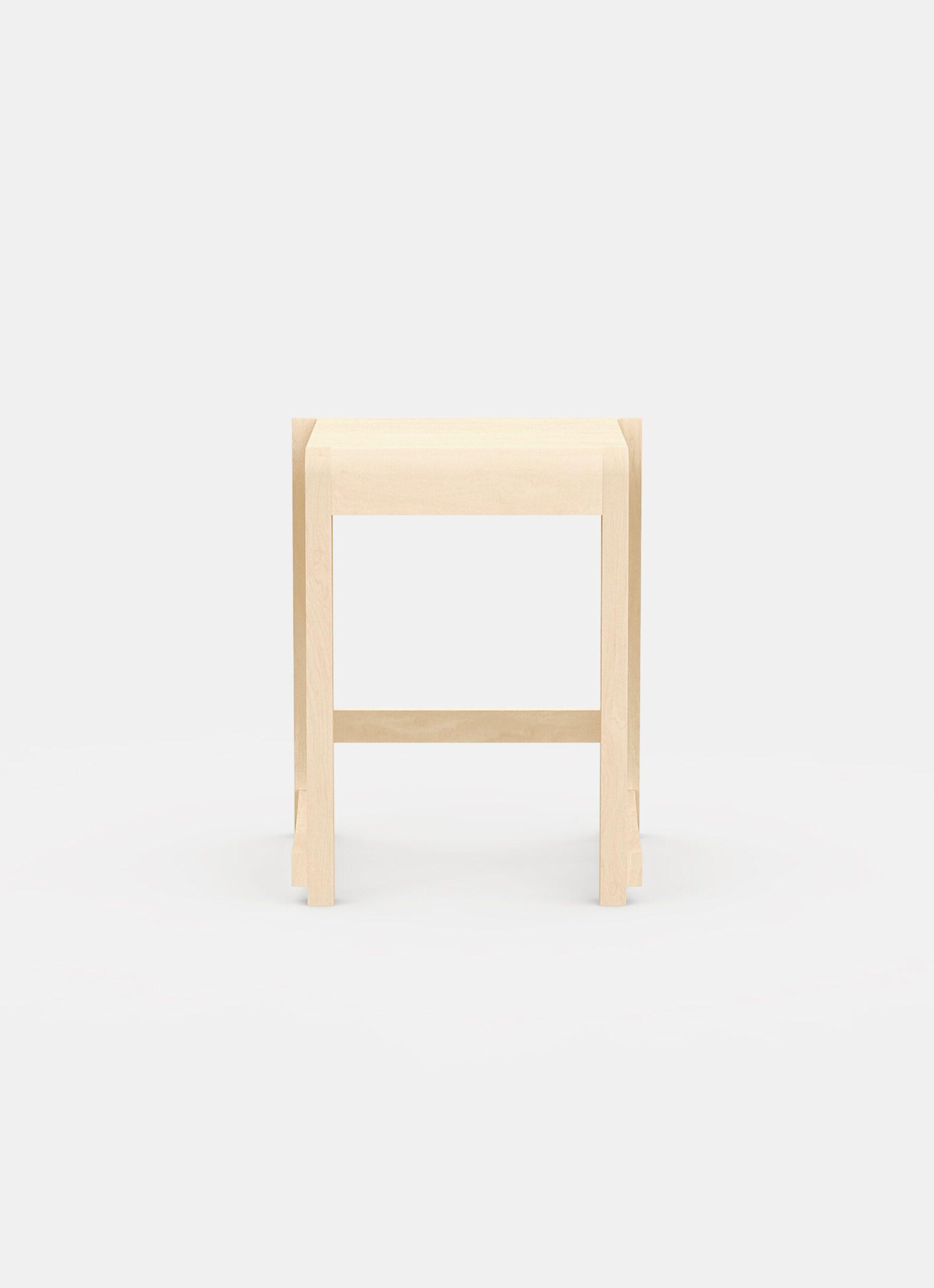 Frama - Low Stool 01 - Natural Wood