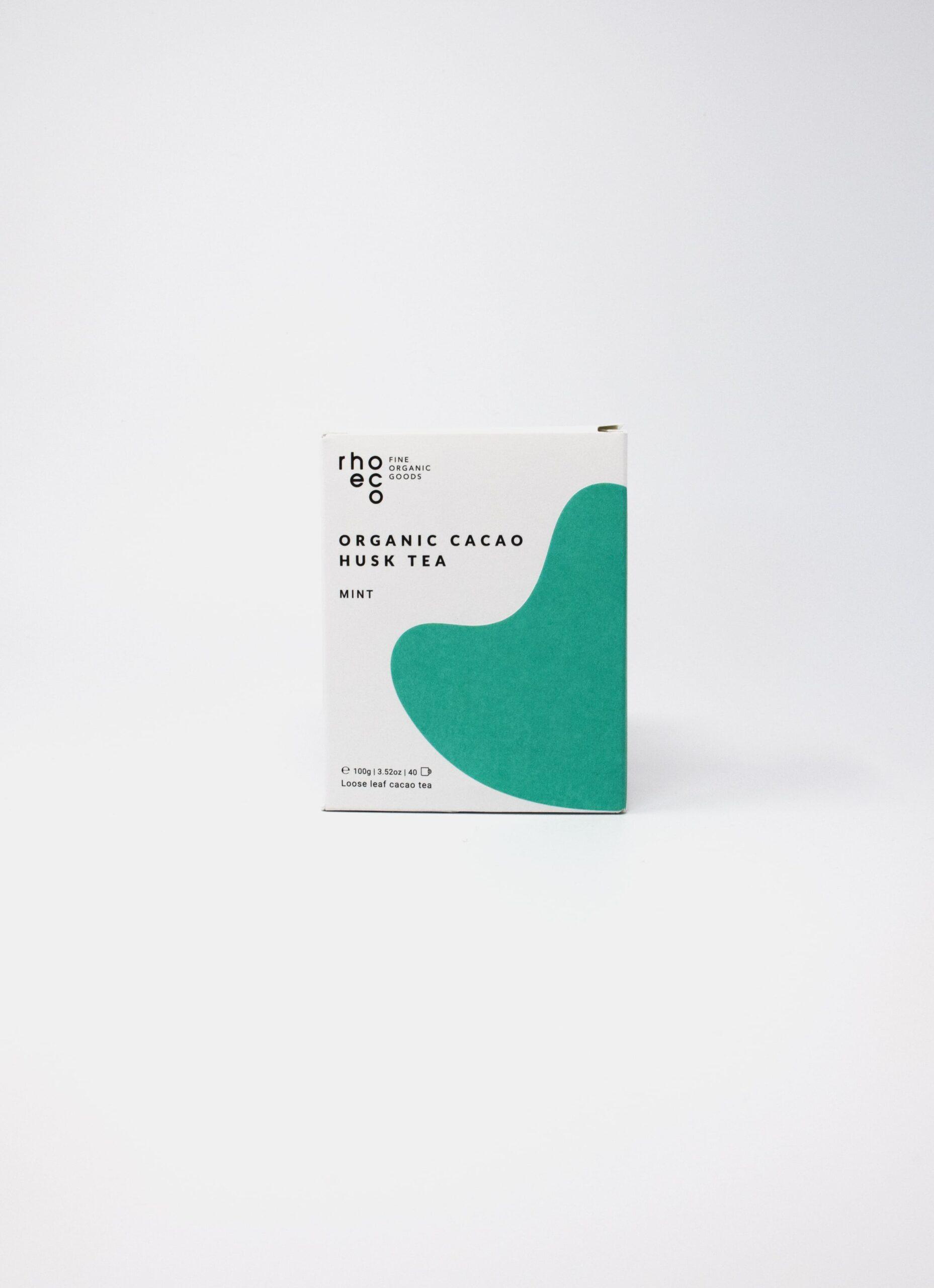 Rhoeco - Organic Cacao Husk Tea - Mint - 100g