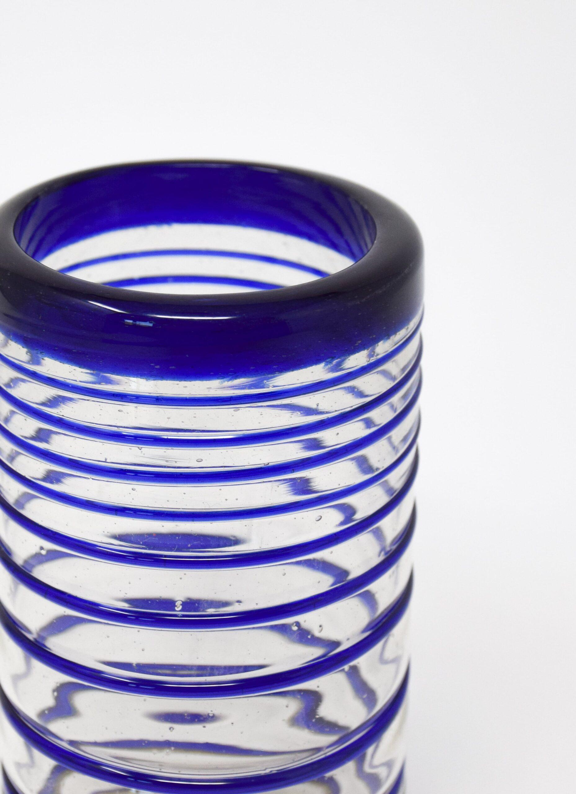 La Muerte Tiene Permiso - Ring Blue - Highball Glass